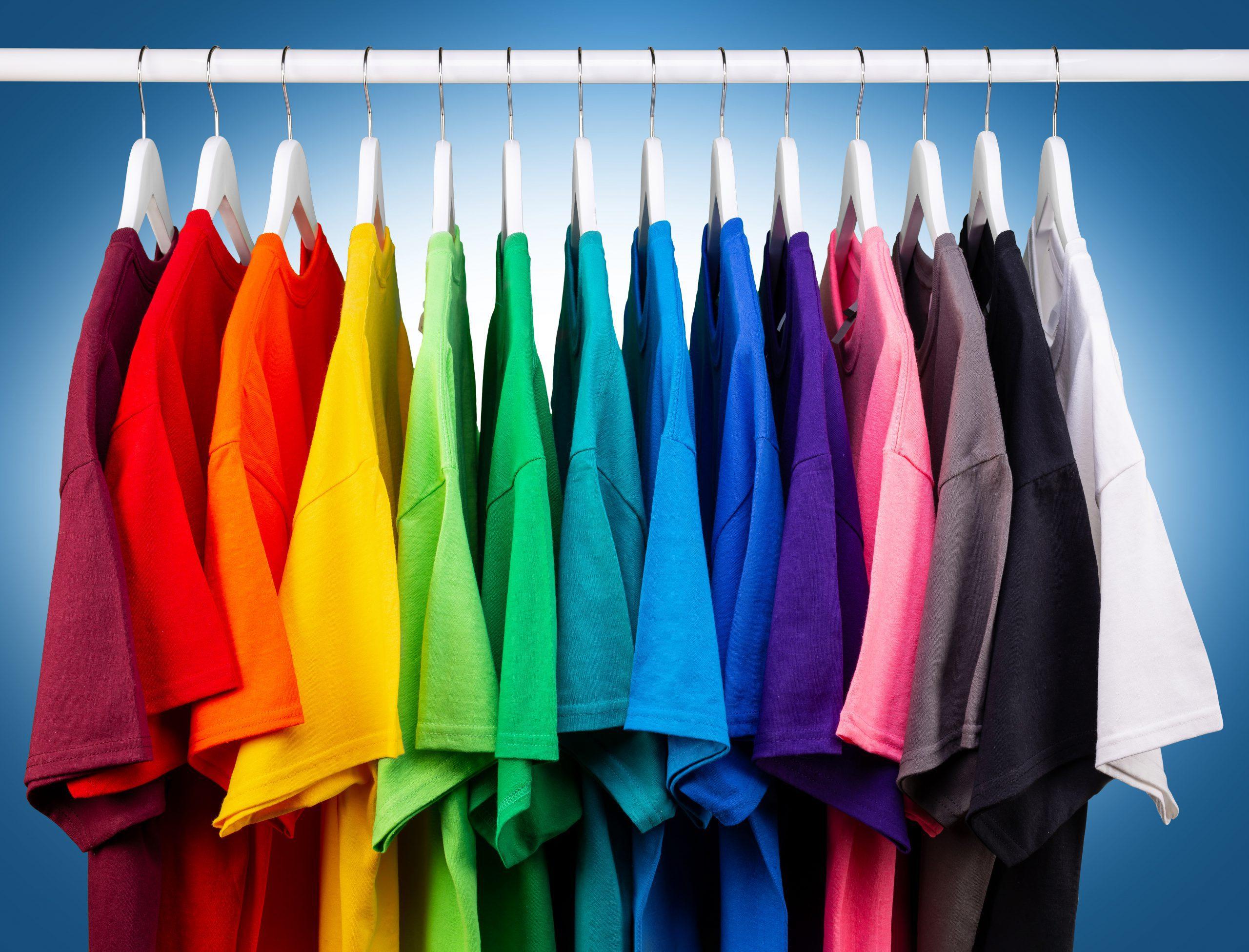 festa gekleurde kleding