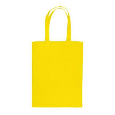 Festa katoenen draagtas mini geel