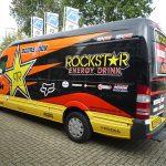 Rockstar full colour belettering