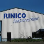 Rinco Freesletters gevel reclame